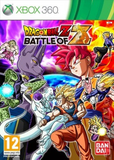 Xbox 360 Dragon Ball Z: Battle of Z