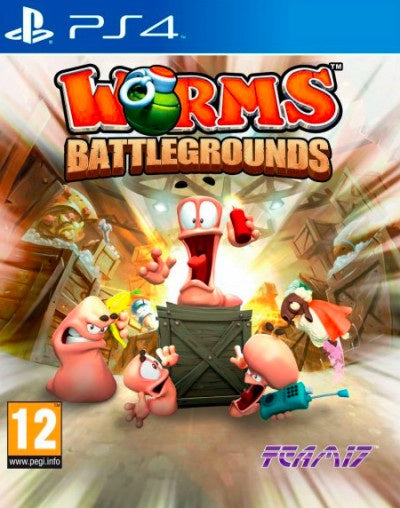 PlayStation 4 Worms Battlegrounds