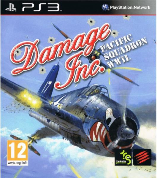 PlayStation 3 Damage Inc. Pacific Squadron WWII