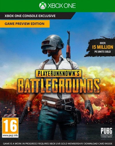 Xbox One Playerunkown's Battlegrounds