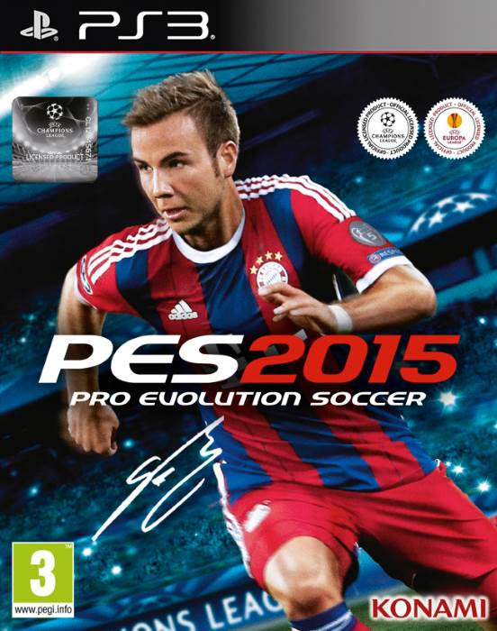 PlayStation 3 Pro Evolution Soccer 2015