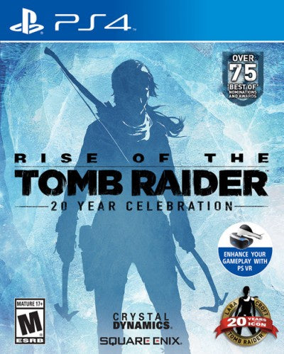 PlayStation 4 Rise of the Tomb Raider 20 Year Celebration