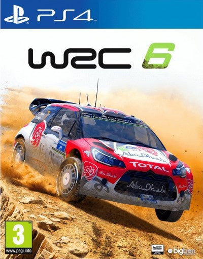 PlayStation 4 WRC 6