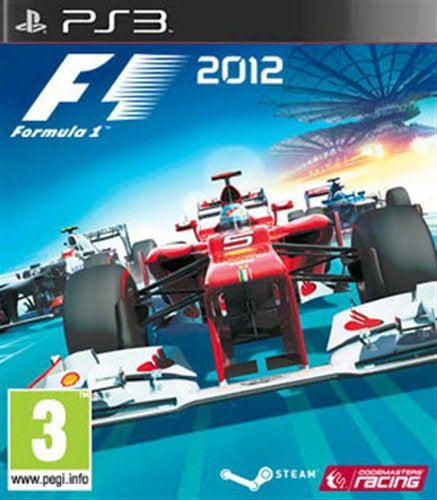 PlayStation 3 F1 2012