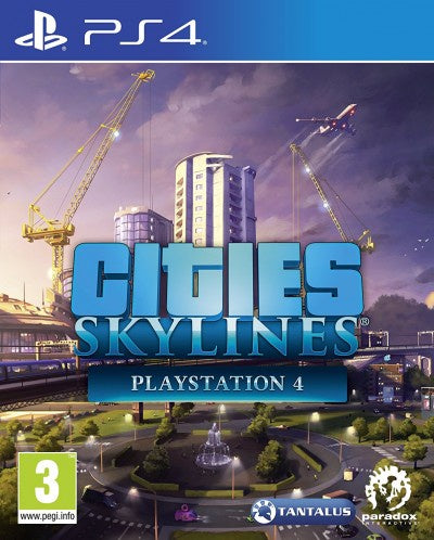 PlayStation 4 Cities Skylines