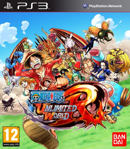 PlayStation 3 One Piece: Unlimited World Red