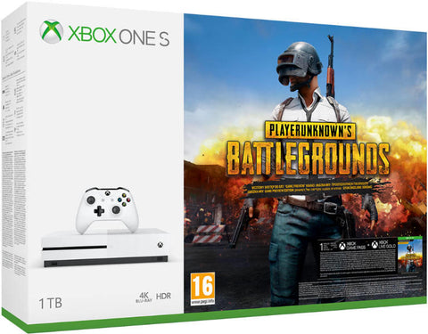 Xbox One S (Slim) 1 TB Playerunknown's Battlegrounds Konzol (Bontatlan)