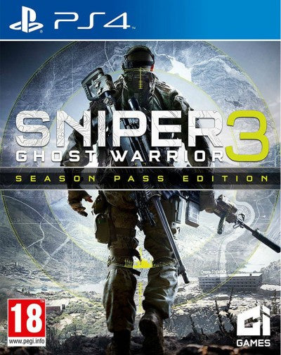 PlayStation 4 Sniper Ghost Warrior 3 Season Pass Edition