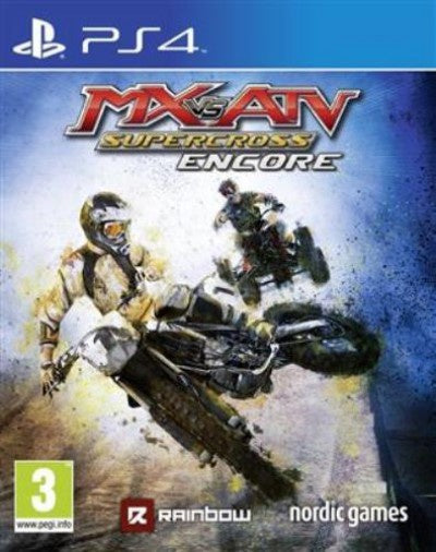 PlayStation 4 Mx vs ATV Supercross Encore