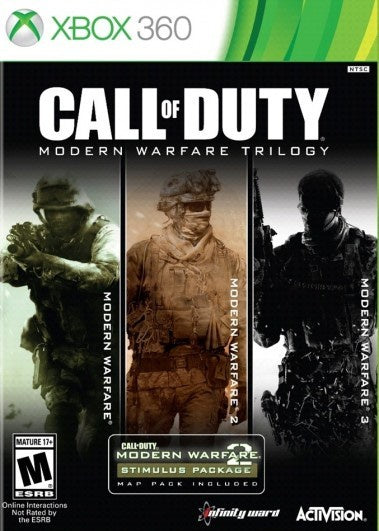 Xbox 360 Call of Duty: Modern Warfare