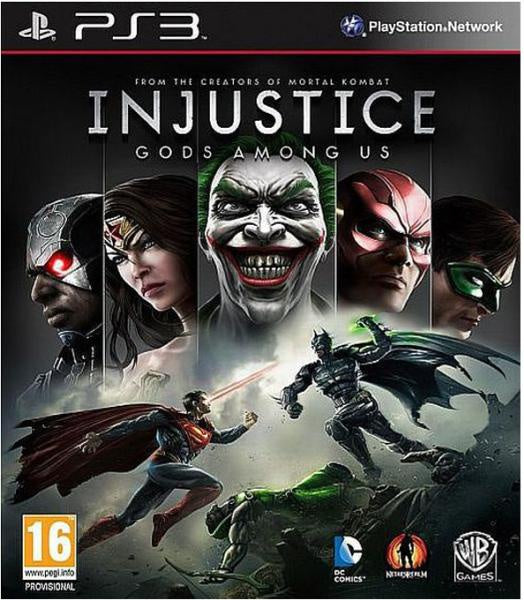 PlayStation 3 Injustice: Gods Among Us