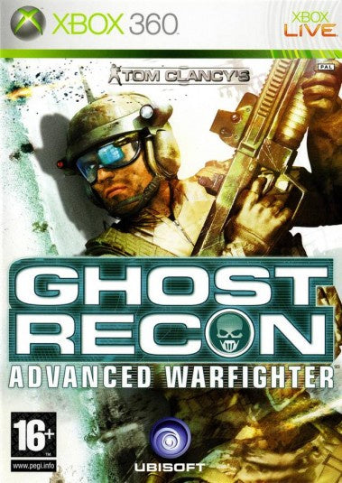 Xbox 360 Tom Clancy's Ghost Recon Advanced Warfighter