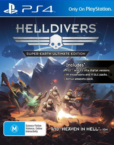 PlayStation 4 Helldivers