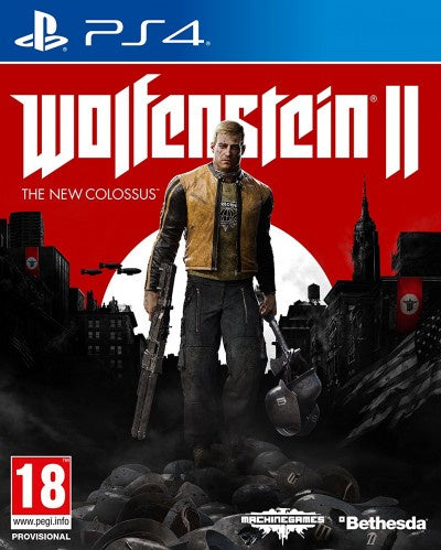 PlayStation 4 Wolfenstein The New Colossus