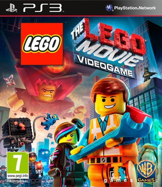 PlayStation 3 Lego The Movie Videogame