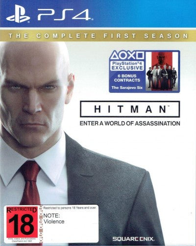 PlayStation 4 Hitman The Complete First Season