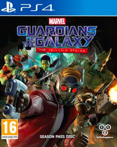 PlayStation 4 Guardians of the Galaxy The Telltale Series