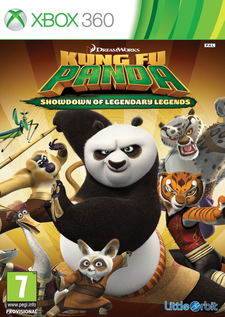 Xbox 360 Kung Fu Panda: Showdown of Legendary Legends Bontatlan