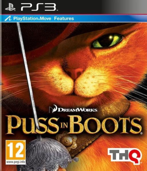 PlayStation 3 DreamWorks Puss in Boots