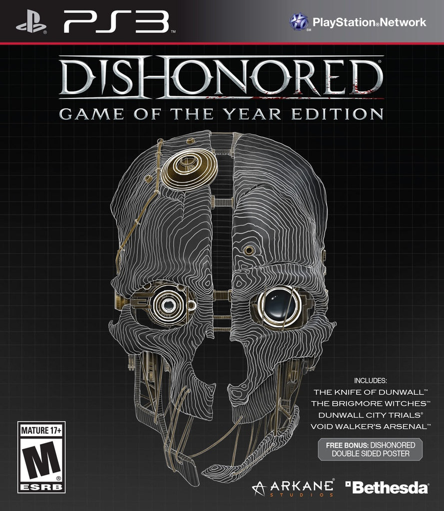 PlayStation 3 Dishonored GOTY