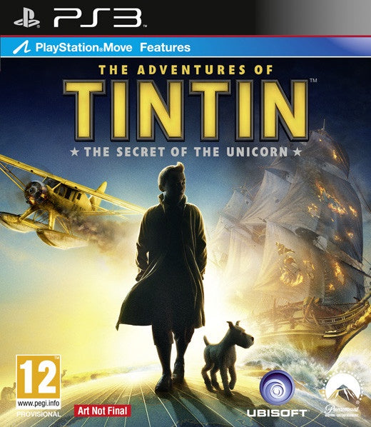 PlayStation 3 The Adventures of TinTin The Secret of the Unicorn