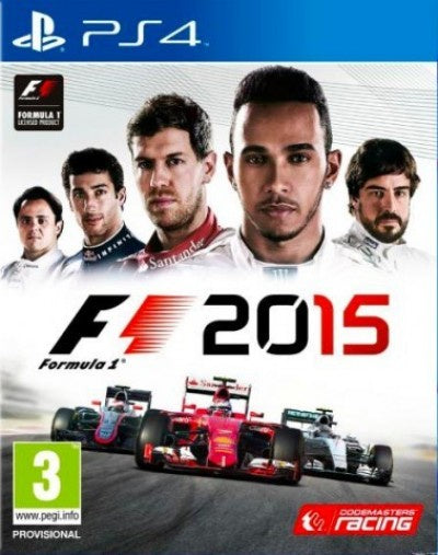 PlayStation 4 F1 2015