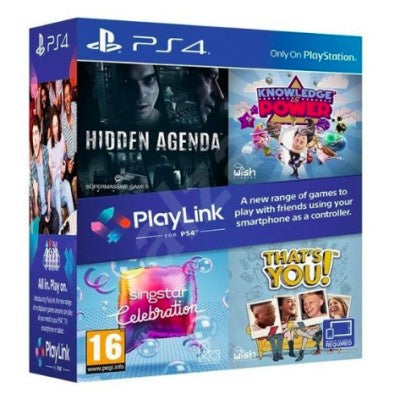 PlayStation 4 Playlink ( Hidden Agenda + Knowledge is Power + Singstar + That's You)
