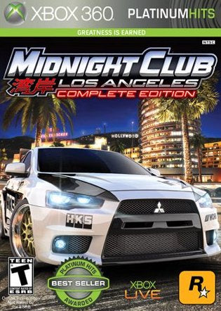 Xbox 360 Midnight Club: Los Angeles Complete Edition