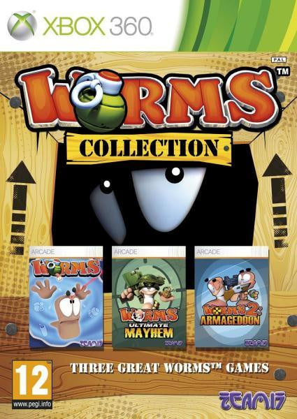Xbox 360 Worms Collection