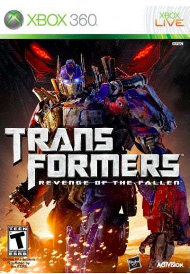 Xbox 360 Transformers: Revenge of the Fallen