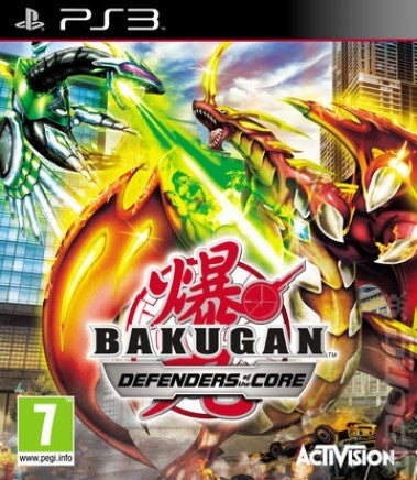 PlayStation 3 Bakugan: Defenders of the Core