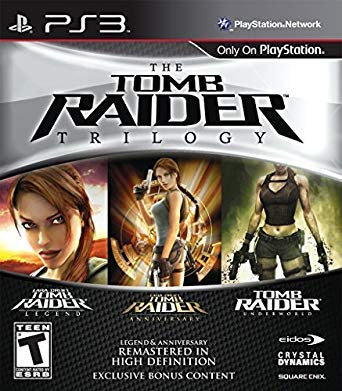 PlayStation 3 Tomb Raider Trilogy