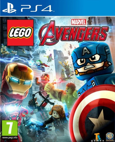 PlayStation 4 Lego Marvel Avengers