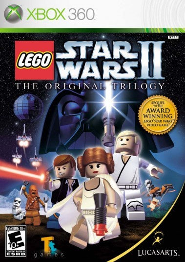 Xbox 360 LEGO Star Wars II The original trilogy