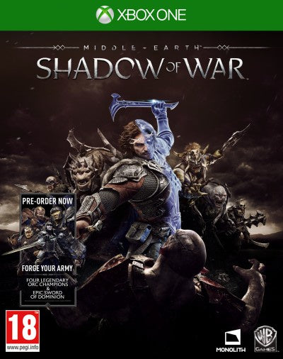 Xbox One Middle-earth Shadow of War