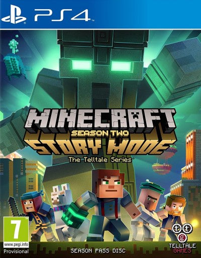 PlayStation 4 Minecraft Story Mode Season Two