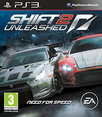 PlayStation 3 Need for speed Shift 2: Unleashed