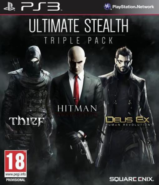 PlayStation 3 Ultimate Stealth Triple Pack