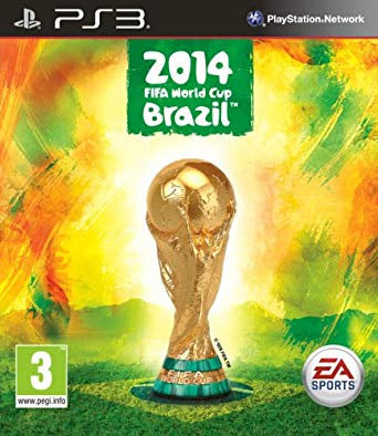 PlayStation 3 FIFA World cup Brazil 2014
