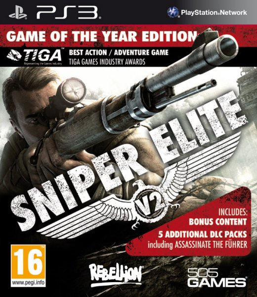 PlayStation 3 Sniper Elite V2 GOTY