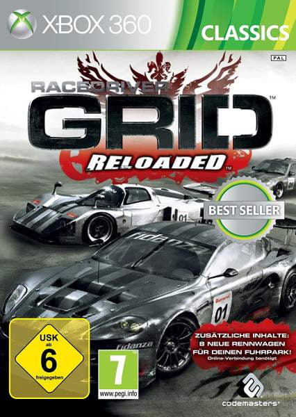 Xbox 360 Race Driver: Grid Reloaded