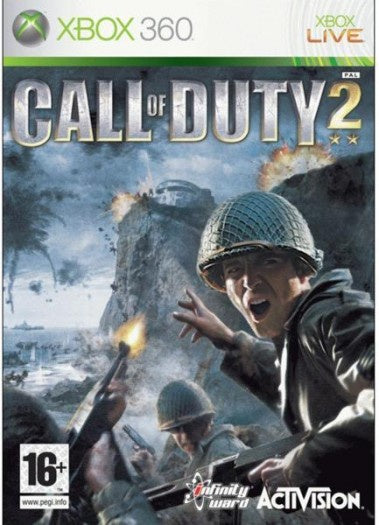 Xbox 360 Call of Duty 2