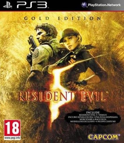 PlayStation 3 Resident Evil 5 Gold Edition