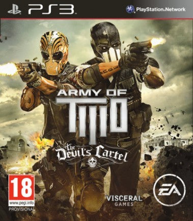 PlayStation 3 Army of Two: The Devil's Cartel