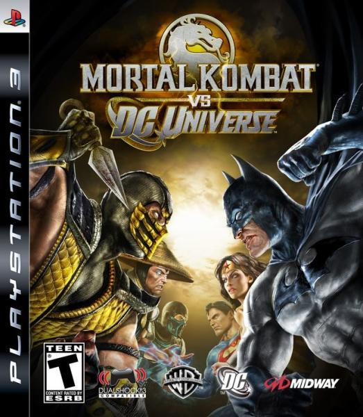 PlayStation 3 Mortal Kombat vs. DC Universe
