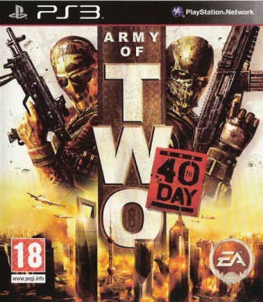 PlayStation 3 Army of Two: The 40th Day