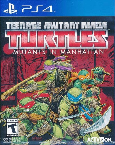 PlayStation 4 Teenage Mutant Ninja Turtles Mutants in Manhattan