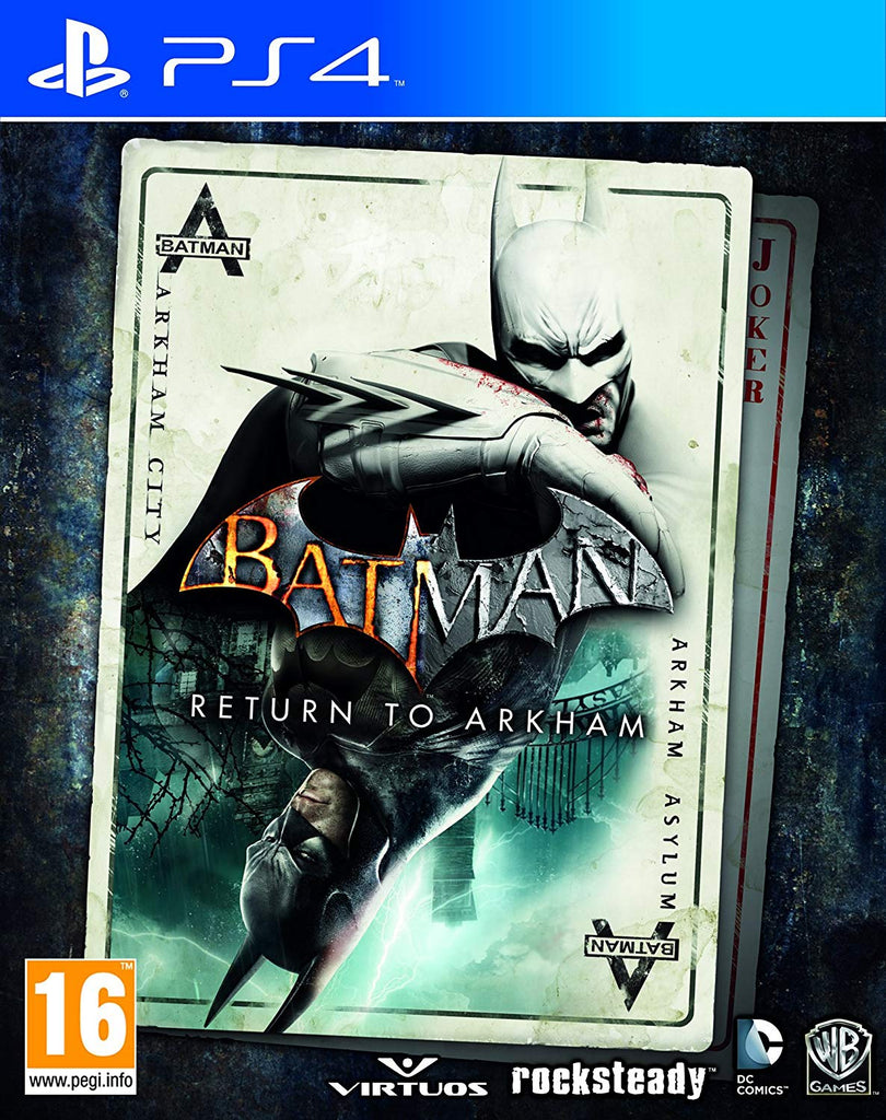 PlayStation 4 Batman Return to Arkham