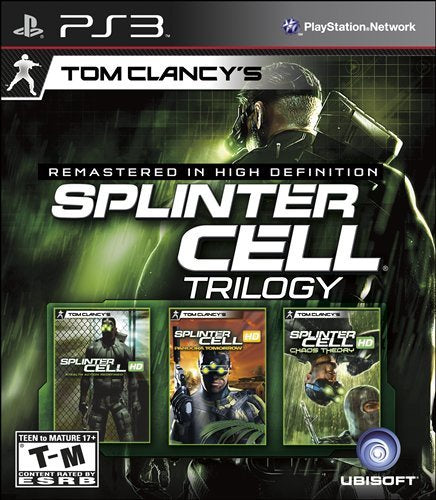 PlayStation 3 Tom Clancy's Splinter Cell Classic Trilogy HD