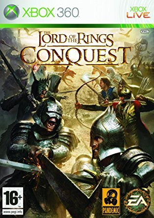 Xbox 360 Lord of The Rings Conquest